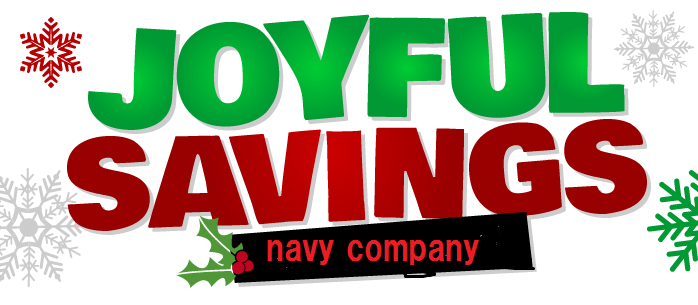 navy company JOYFUL SAVINGS